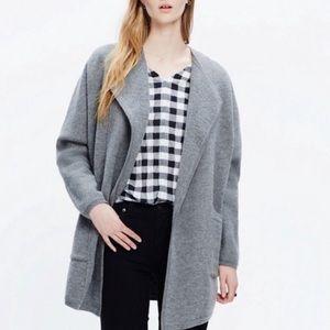 Madewell Oversized Sweater Jacket
